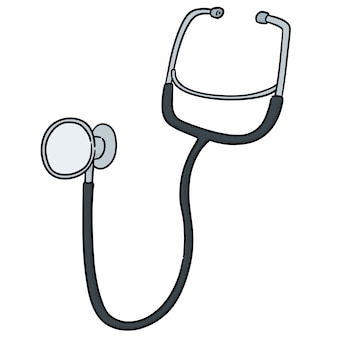Vector of stethoscope