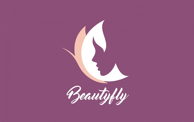 Vector symbols logo designs ideas women portrait