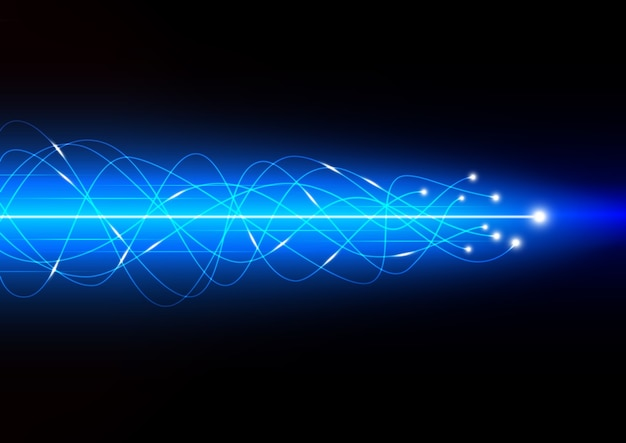 Vector of technology abstract background