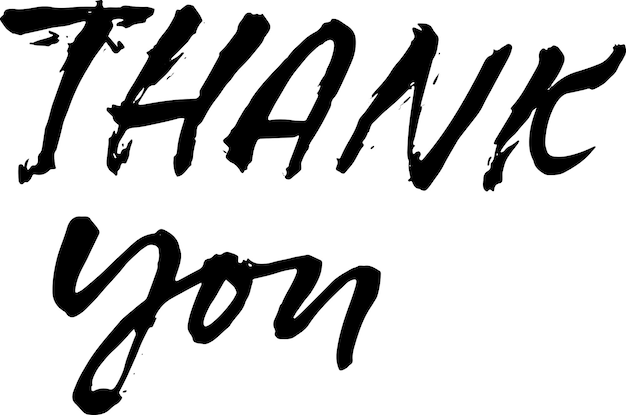 Vector template for thanks greeting cards