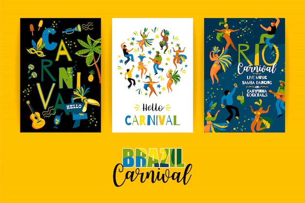 Vector templates for carnival concept and other users.