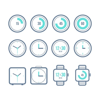 Vector timers set