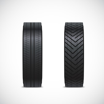 Vector tire clipart