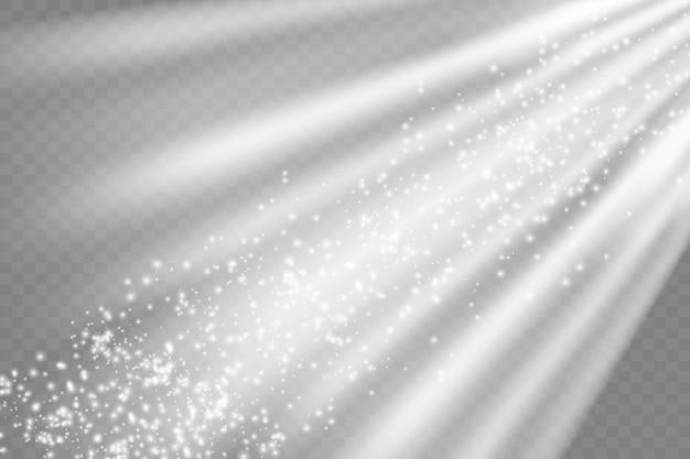 벡터 투명 햇빛 특수 렌즈 플래시 조명 effectfront 태양 렌즈 플래시 벡터 l에서 흐림...
