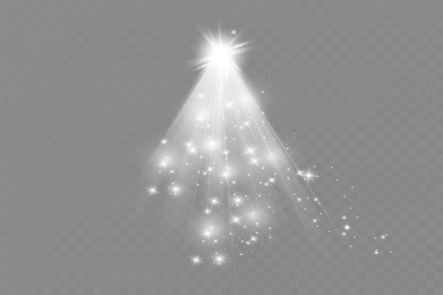 ベクトル透明太陽光特殊レンズフラッシュライトエフェクトフロントサンレンズフラッシュベクトルブラーイン...