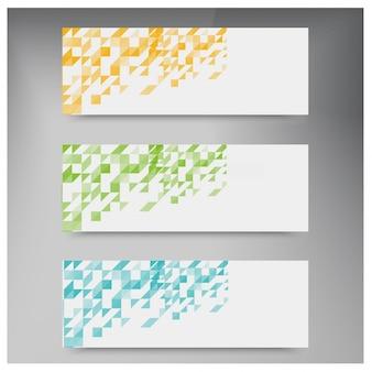 Vector triangle color