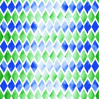 Векторный треугольник бесшовные акварель фон. бесшовный узор на спине готов. абстрактная рисованная акварельная композиция для элементов альбома для вырезок
