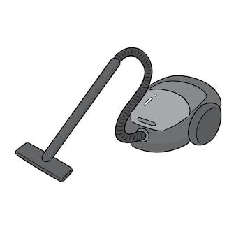 Vector of vacuum cleaner