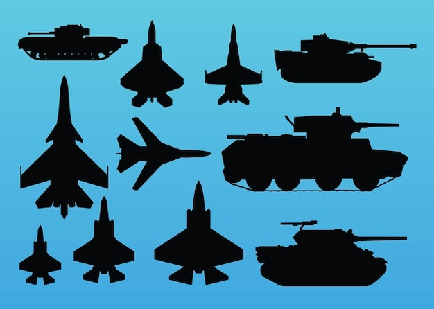 Vector war graphics
