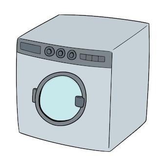 Vector of washing machine