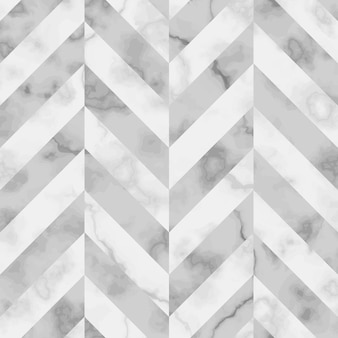 Vector white and gray herringbone marble seamless pattern repeat diagonal marbling surface