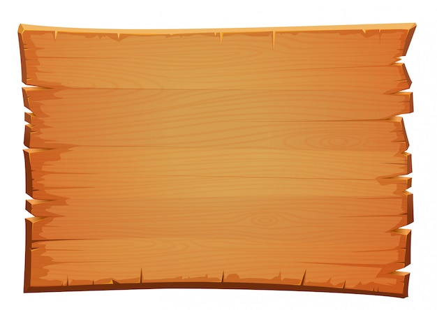 Vector wooden mahogany texture. old board of shabby wood.