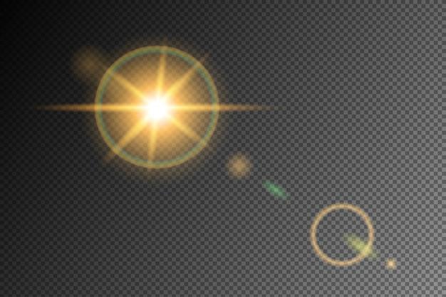 Vectors flare translucent