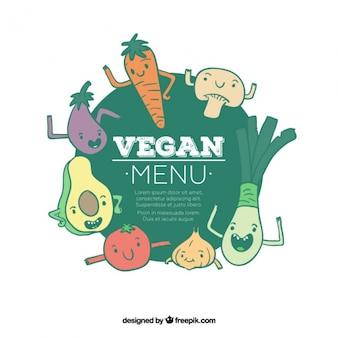 Вегетарианский меню