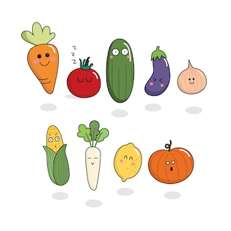 Vegetable character