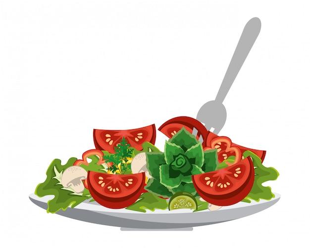 野菜の健康な食事