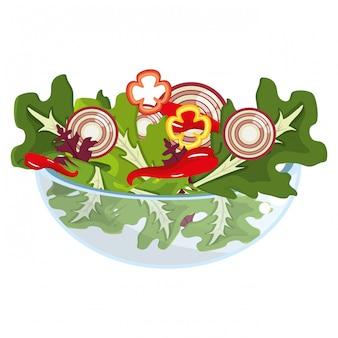 Vegetable healthy diet