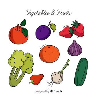 야채와 과일