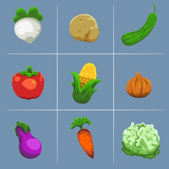 Vegetables asset