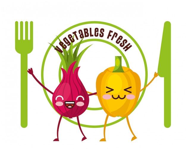 Vegetables fresh food
