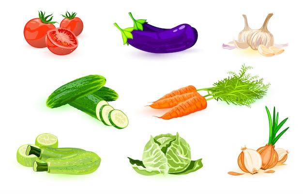 野菜のアイコンを設定