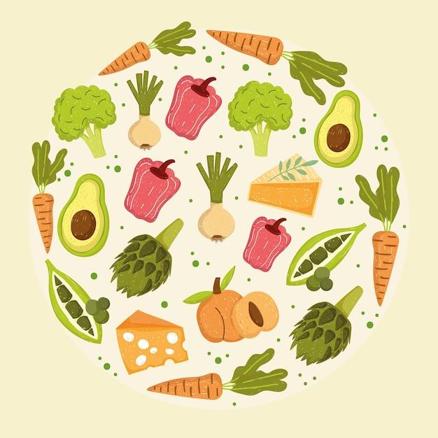야채 영양 식품