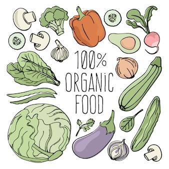 Vegetables nutrition paleo natural diet