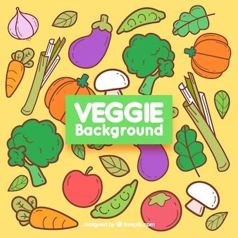 Veggie background