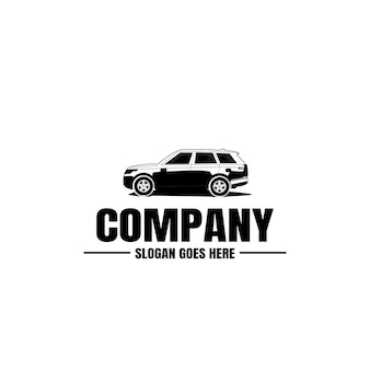 Vehicle logo template. car icon for business design. rent, repair, shop garage concept.