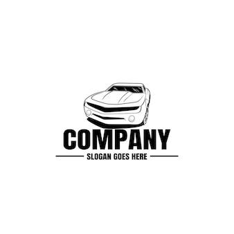 Vehicle logo template. car icon for business design. rent, repair, shop garage concept.