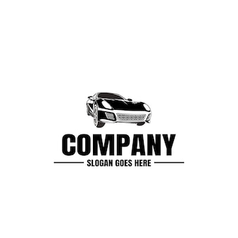 Vehicle logo template. car icon  . rent,  repair,  shop garage . Premium Vector