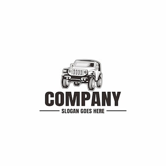 Vehicle logo template