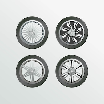 Velg car set object collection car wheel images