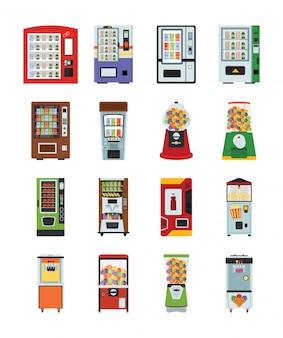 Vending machines icons