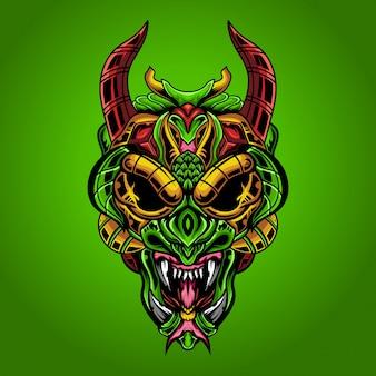 The venomous prey monsters  illustration