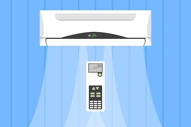 Система вентиляции и кондиционирования, дистанционное управление