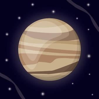 Venus planet solar system space