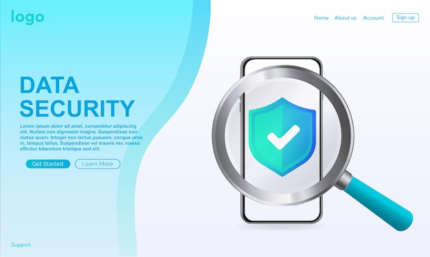Verified icon in box loading page website approved icon approved verified and protected icon
