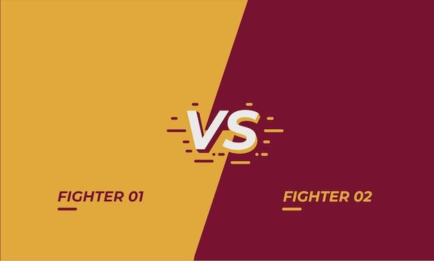 street fighter vs screen template