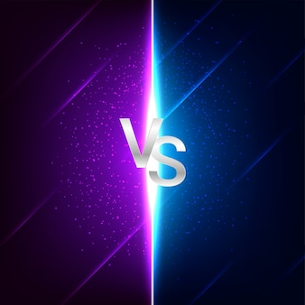 Противостояние против битвы фон экрана битвы