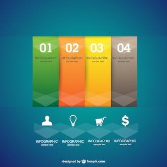 Infografica grafica vettoriale libero