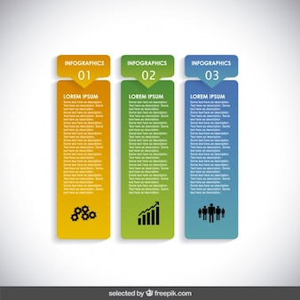 Vertical infographic banners