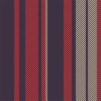 縦縞のシームレスパターン。ファッションテキスタイルに適したストライプの質感。