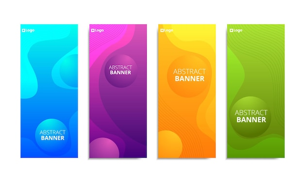 Vertical vector colorful background with copy space