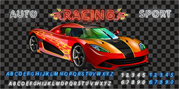 Very fast racing machine