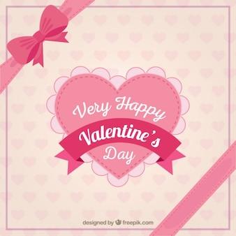 매우 행복한 발렌타인 데이 하트