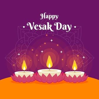 Vesak day concept