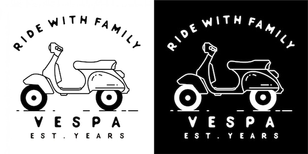 Vespa scooter design