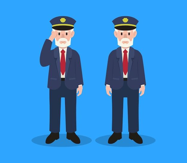 Иллюстрация персонажей армии дня ветеранов