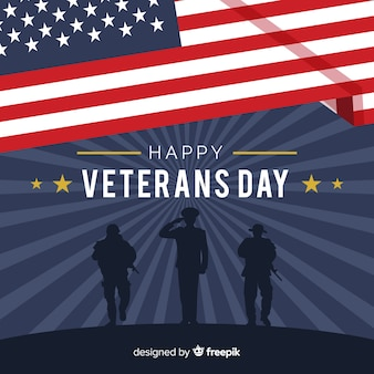 Veteran's day background